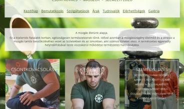 Sirály Tamás weboldala by kisgal