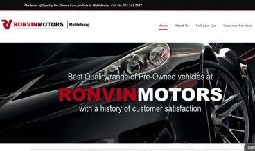 Ronvin Motors Middelburg by Autodigital Technologies (Pty) Ltd