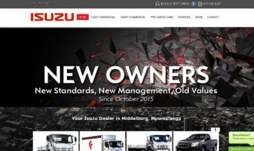 Isuzu Dealer Middelburg by Auto Digital Technologies (Pty) Ltd