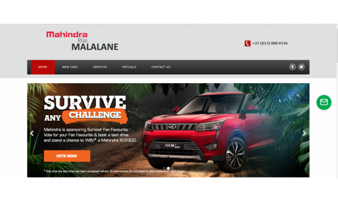 Mahindra Malalane by Auto Digital Technologies (Pty) Ltd