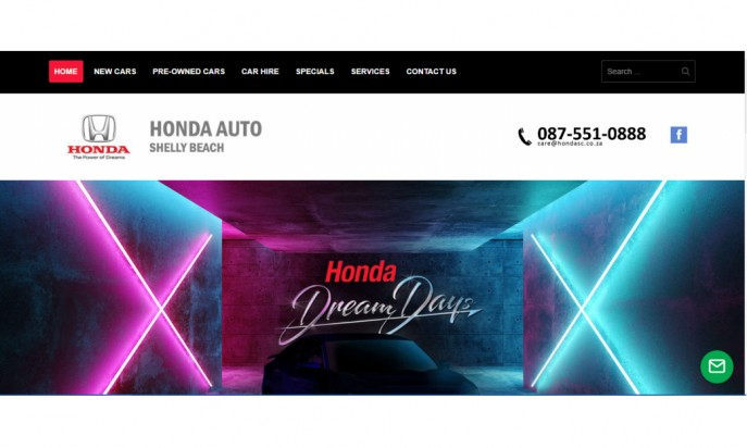 Honda Auto South Coast by Auto Digital Technologies (Pty) Ltd