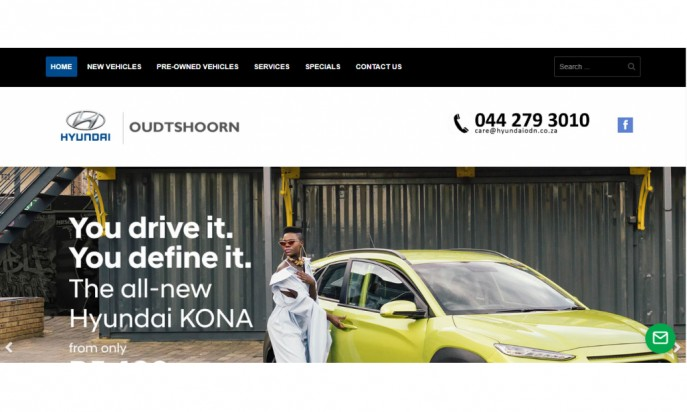 Hyundai Oudtshoorn by Auto Digital Technologies (Pty) Ltd
