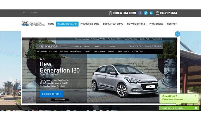 Hyundai Groblersdal by Auto Digital Technologies (Pty) Ltd