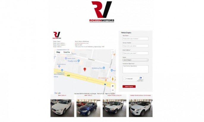 Ronvin Motors Middelburg by Auto Digital Technologies (Pty) Ltd