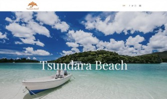 Tsundara Beach Retreat by André Geßner - Web and Print Design, Photography, Branding
