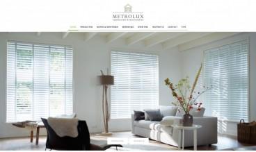 Metrolux - Raamdecoratie op maat by db8