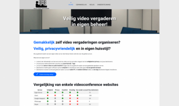 Veilig Video Vergaderen by Peter Martin