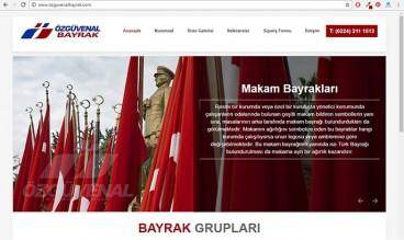 Özgüvenal Bayrak by Akademi Grafik