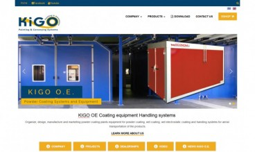 KIGO OE Coating equipment Handling systems by KKapodistrias