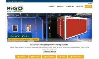 KIGO OE Coating equipment Handling systems by KKapodistrias