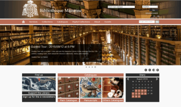 French Mazarine Library by Pulsar Informatique