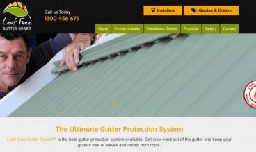 Leaf Free Gutter Guard by Menace Group