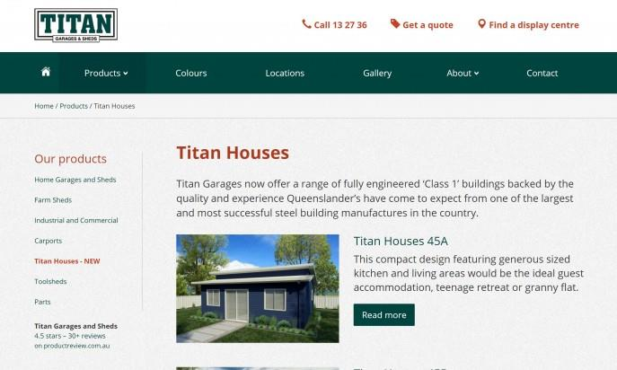 Titan Garages and Sheds by Menace Group