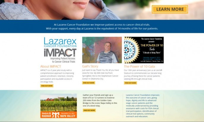 Lazarex Cancer Foundation by GWS - Desk.com
