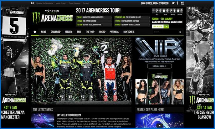 Arenacross UK by redelevencreative