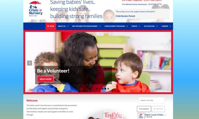 Crisis Nursery St. Louis by eClarity Web Solutions