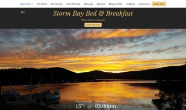 Storm Bay Bed & Breakfast by Webilicious