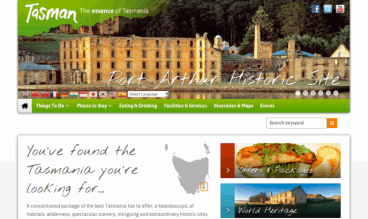 Tasman Region by Webilicious
