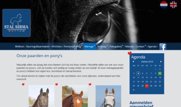 Stable Sibma horses by Peter Wouda Heerenveen