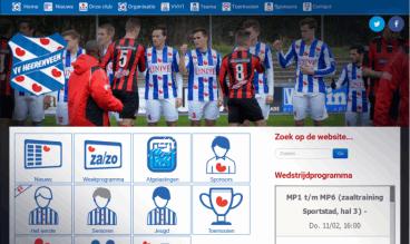 Soccer team VV Heerenveen by Peter Wouda Noordoost