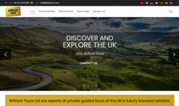 Brilliant Tours by ConCom Web Design
