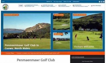 Penmaenmawr Golf Club by Keimos Designs