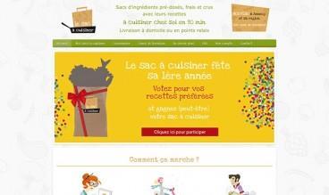 Le sac à cuisiner by globuleWEB.com