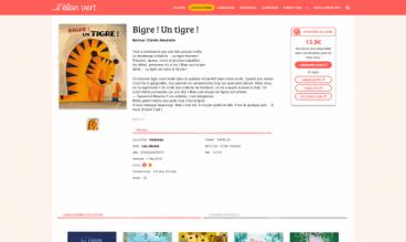 Elan Vert - French Publisher of Children's Books by Semaphore - French communication agency