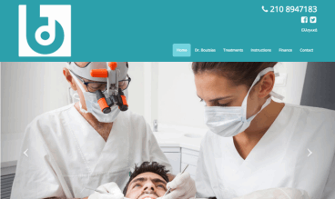 Glyfada Dentist by Dynamic Sites Greece