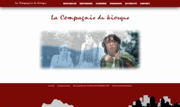 LA COMPAGNIE DU KIOSQUE by POUSS ARTS INTERACTIVE
