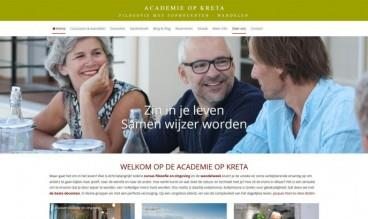 Evdaimonia | Academie op Kreta by R2H webdesign