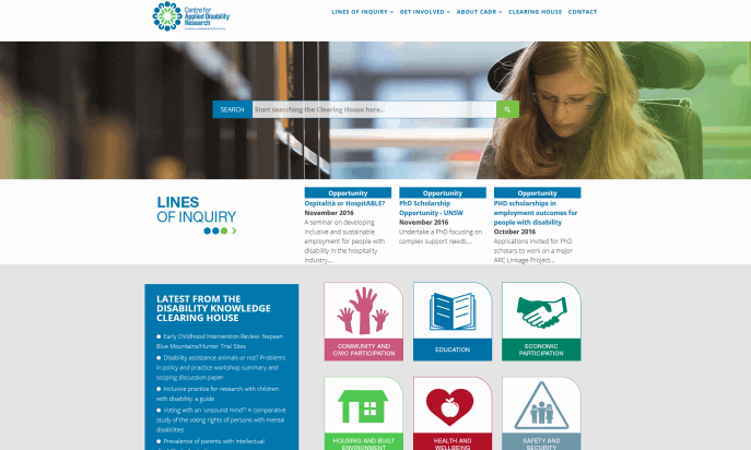 Centre for Disability Research by National Disability Services