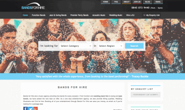 Bands For Hire by Bands For Hire Ltd
