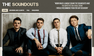 The Soundouts by Bands For Hire Ltd