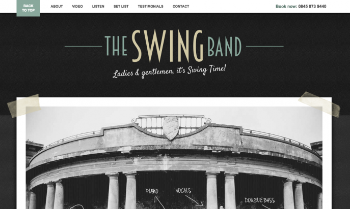 The Swing Band by Bands For Hire Ltd