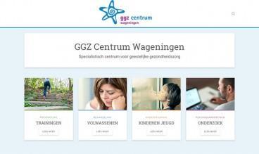 GGZ Centrum Wageningen by Buro Blun - Webdesign en Grafisch ontwerpen