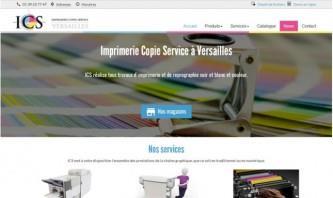ICS78 - Imprimerie Copie Service à Versailles by Titchag'Création
