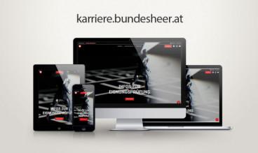 Karriere Bundesheer by webfeuer.wien