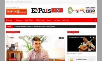 El País Tarija by alvoluksic web & multimedia