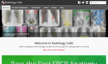 Radiology Cafe by Christopher Clarke