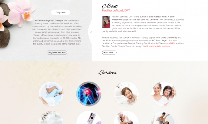 Femina Physical Therapy - Joomla! Showcase Directory