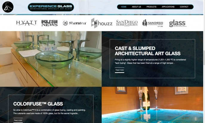 Architectural Cast, Slumped, Sandblasted Glass | Experience Glass by Mac Master Services