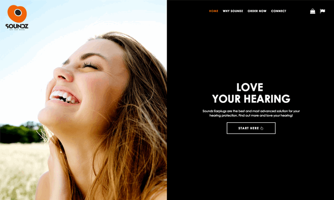 Soundz - Love your hearing by Readmore Creative