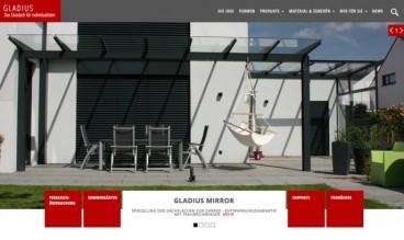 Gladius - Das Glasdach für Individualisten by Angie Radtke Büro für Kommunikation
