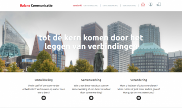 Balans Communicatie by WebLab42