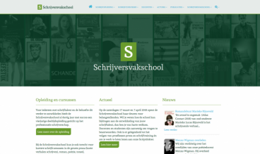 Schrijversvakschool by Anja de Crom - WebLab42