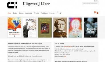Uitgeverij IJzer by Anja de Crom - WebLab42
