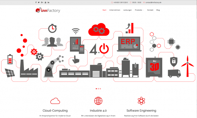 innFactory - Cloud-native Engineering & Consulting by innFactory.de