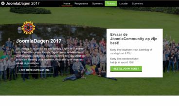 Nederlandse JoomlaDagen by Stichting Sympathy