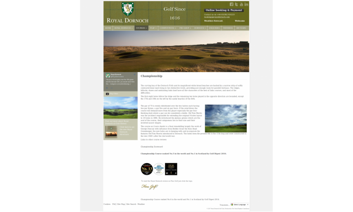 Royal Dorch Golf Club by Andy Gaskell - SSOFB